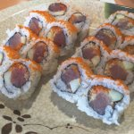 Spicy Tuna Sushi Roll Lunch Special