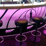 The bar in the Piz Gloria