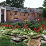 Canyon Inn grounds are always well kept and the flower beds were no exception