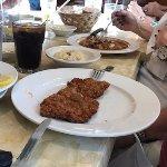 veal cutlet, unadorned as ordered
