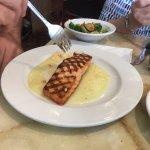 salmon Francaise (lemon sauce)