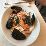 Good variety of seafood.