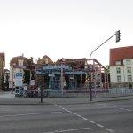 U-Bahn station across from hotel