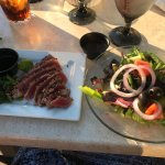 Seared Ahi Tuna & salad