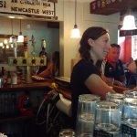 Harp and Hound Pub, Katie