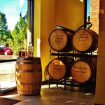 The wood casks that caught my eye