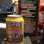 CO Agave Wheat Beer $5