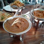 Dishes which we ordered from Sula Indian Restaurant.