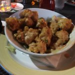 Chicken bang bang - Reminded me of a general tso's-ish dish with a creamy spicy sauce.