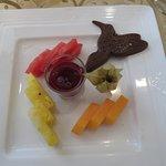 Fruit Plate for Dessert