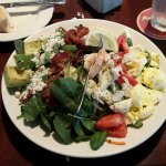 The seafood Cobb Salad (medium)