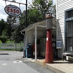 Old Gas Pump and ESSO sign, Mast General Store