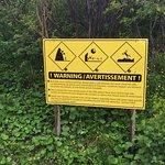 Safety signage.
