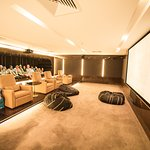 Movie Room. HUGE and fantastic fun for the kids. Hotel had a good range of DVDs to borrow as wel