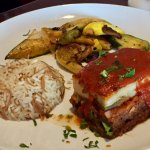 Moussaka: Layers of Eggplant, Zucchini & Potatoes with Spicy Ground Beef