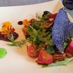 Beet salad was delicious and beautiful!