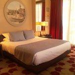 King size bed in King Spa Premier room