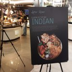 Indian themed night on the executive club lounge