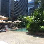 Great poolarea at Grand Hyatt Hong Kong