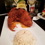 Red snapper and white rice