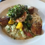 Digby Scallops & Wild Pacific Prawns w/ Atlantic Lobster Risotto