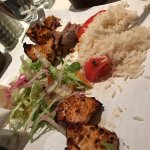 Chicken Kebob & Turkish Rice