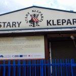 the entrance sign describing the market