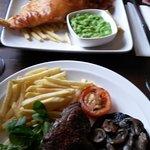 Fish & Chips & Rump steak