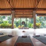 The beautiful Yoga Shala!