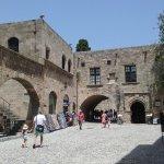 intérieur du vieux Rhodes