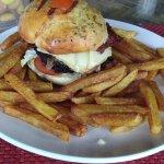 An amazing burger