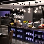 Living Space - a lounge serves breakfast and coffee & tea throughout the day