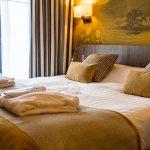 Chambre avec lit double (très confortable)