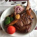 The Pitcrocknie Tomahawk Steak...