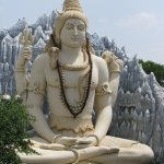 The Shiv Mandir, located in the heart of Bangalore, is abode to a 65-feet-tall Shiva statue.