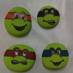 Rock painting party~~~~
