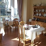 Our lovely breakfast rooms gets the morning sunshine