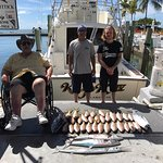 Second day fishing, maxed out capacity of Yellow Tail Snapper. 1/2 day.