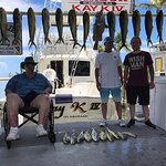 First day fishing, maxed out our capacity of Mahi Mahi. Full day.