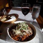 Spaghetti cerf wapiti bison