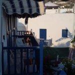 vue sur petit balcon
