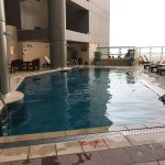 18th floor pool,, at the spa area,,, they have steam bath, dry sauna, and massage service