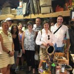 Artist Cam, on the right, with our Dutch & Australian & Indiana tour group!