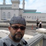 The photo was taken at KK City Mosque