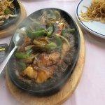Chinese black bean sizzling chicken!