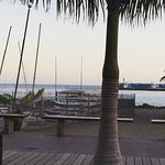 View from our evening meal in Sol Y Luna
