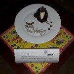 Sorpresa en mi habitación por mi cumpleaños de parte del Hotel