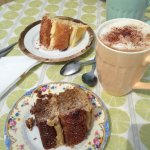 Coffee Cake & Lemon Cake.. lush!