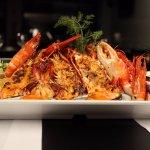 Misto Premium de marisco . Premium seafood mix