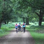 Family friendly cycling routes